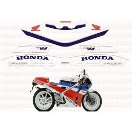 Autocollants - Stickers Honda VFR 1000 année 1984