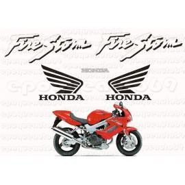 Autocollants - Stickers Honda VFR 750 RC36 année 1991-92