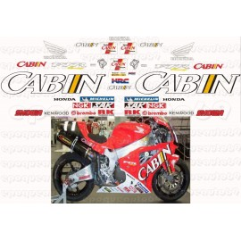 Autocollants - Stickers Honda VTR 1000F Firestorm année 2001