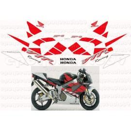 Autocollants - Stickers Honda VTR Castrol