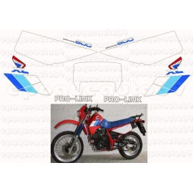 Kit Autocollants - Stickers honda xr 600 de 1986
