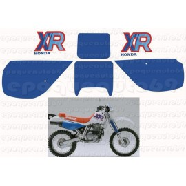 Kit Autocollants - Stickers honda xr 600 de 1992