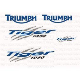 Kit autocollants Stickers triumph tiger 955 i année 2006