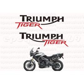 Kit autocollants Stickers triumph tiger année 1993