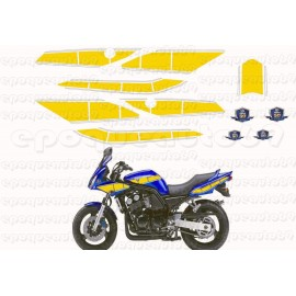 Autocollants - Stickers réservoir yamaha fz6