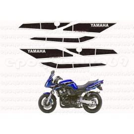Autocollants - Stickers Yamaha fz6 année 2002 - 50 eme anniversaire