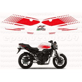 "Autocollants stickers Yamaha FZ 1 "" abarth"""