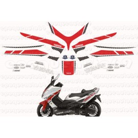 Kit autocollants Stickers Yamaha T-max 1 FIAT Lupin