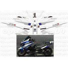Kit autocollants Stickers Yamaha T-max 1 gp