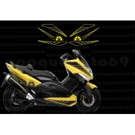 Kit autocollants Stickers Yamaha T-max 2008 -2010