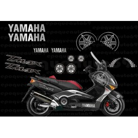 Kit autocollants Stickers Yamaha T-max 2001-2007