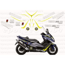 Kit autocollants Stickers Yamaha T-max 2