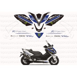 Kit autocollants Stickers Yamaha T-max 530