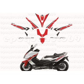 Kit autocollants Stickers Yamaha T-max 530 Gp