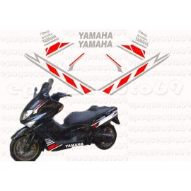 Kit autocollants Stickers Yamaha T-max 530 Gp2