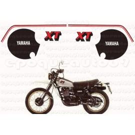 Autocollants stickers Yamaha XT 600 annee 1980