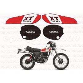 Autocollants Stickers Yamaha XT 500 annee 1976 Enduro