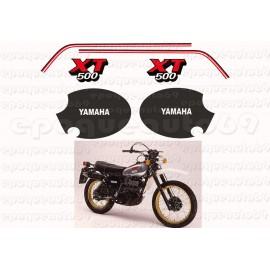 Autocollants Stickers Yamaha XT 500 annee 1979