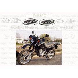 Autocollants stickers Yamaha XT 600 annee 1986