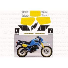 Autocollants stickers Yamaha XTZ 600 annee 1986
