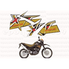 Autocollants Stickers Yamaha XTX 125