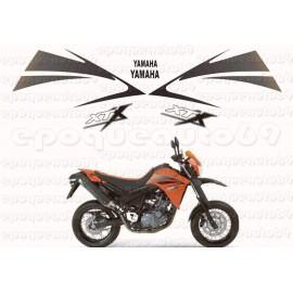 Autocollants Stickers Yamaha XTR 660 annee 2004