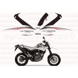 Autocollants Stickers Yamaha XTX 660 annee 2007