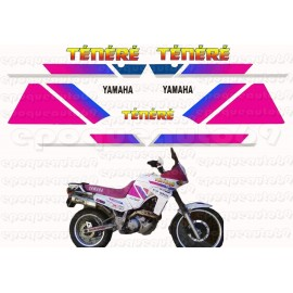Autocollants - Stickers yamaha super tenere chesterfield