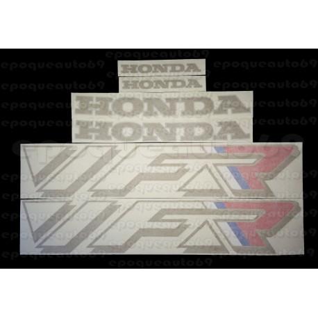Autocollants - Stickers Honda VFR année 1990