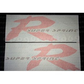 Kit Autocollants - Stickers honda NSR 125 R année 1998