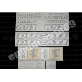 Autocollants - Stickers Ducati 851 SP3