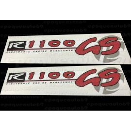 Kit autocollants - stickers bmw R 1100 GS année 75 eme anniversaire