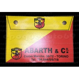 Pochette range documents ABARTH