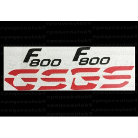 Kit autocollants -stickers bmw 800 gs de 2013