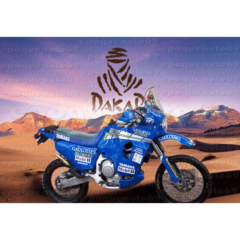 Autocollants Stickers Yamaha Super Tenere Xtz 750 Quot Dakar Gauloises Quot Epoqueauto69