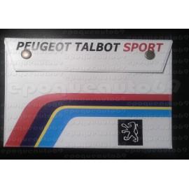 Pochette range documents PEUGEOT TALBOT SPORT