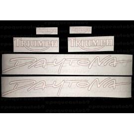 Kit autocollants Stickers triumph daytona T300 année 1993 à 1995