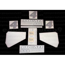 Autocollants - stickers Ducati 888 SP5