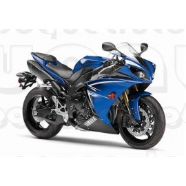 Kit autocollants stickers Yamaha YZF-R1 2009 version bleue