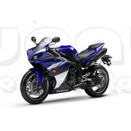 Kit autocollants stickers Yamaha YZF-R1 2010 version bleu