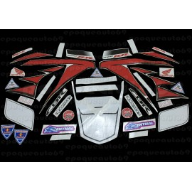 Autocollants stickers HONDA CBR 600 / 1000 RACING