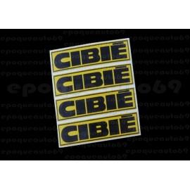 Autocollants stickers Cibié