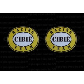 Autocollants stickers Cibié Racing team