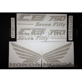 Kit autocollants Stickers Honda CB seven Fifty