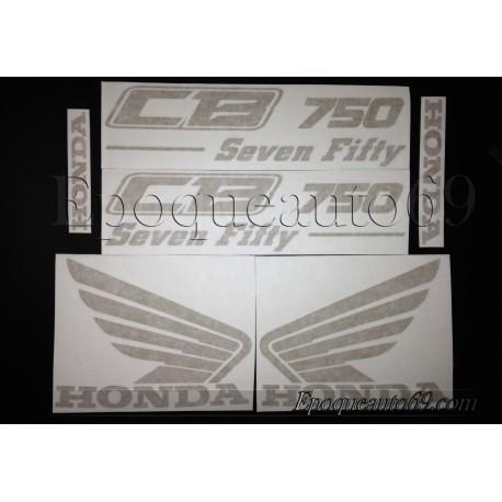 Kit autocollants Stickers Honda CB seven Fifty