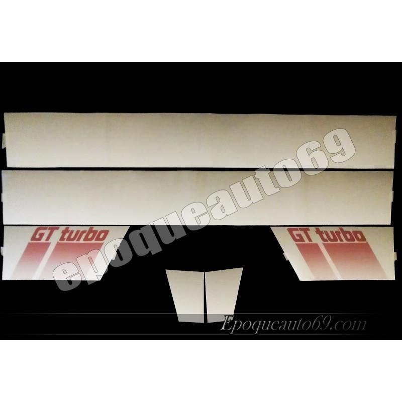kit autocollants super 5 gt turbo phase 2 epoqueauto69. Black Bedroom Furniture Sets. Home Design Ideas