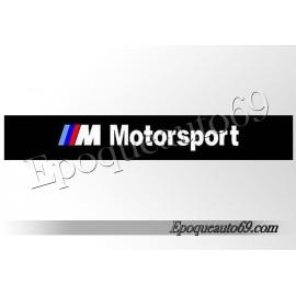 Autocollant - sticker Pare soleil bmw motorsport + Logo M3