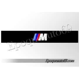 Autocollant - sticker Pare soleil bmw M3 Logo