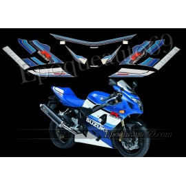 Autocollants - stickers Suzuki GSX-R 750 2005 version 20 eme anniversaire
