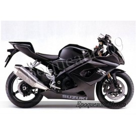 Kit autocollants stickers Suzuki GSX-R 1000 2005 version noir